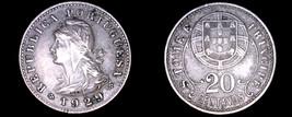 1929 Saint Thomas & Prince Island 20 Centavo World Coin - $24.99