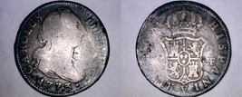 1773-CF Spanish 2 Reales World Silver Coin - Spain - $49.99