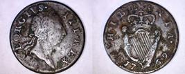 1769 Irish 1/2 Penny World Coin - Ireland - Type II - $99.99