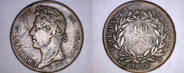1828-A French Colonies 10 Centimes World Coin - $44.99