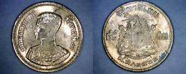 1957 BE2500 Thai 5 Satang World Coin - Thailand Siam Y-78 - $3.75