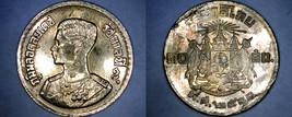 1957 BE2500 Thai 10 Satang World Coin - Thailand Siam Y-79 - $3.49