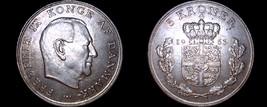 1963 Danish 5 Kroner World Coin -Denmark - $33.99