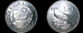 1986 Malta 1 Lira World Coin - $14.99