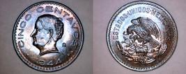 1944-Mo Mexican 5 Centavo World Coin - Mexico - $29.99
