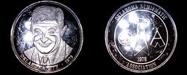 1979 Oklahoma Numismatic Association 1 oz Silver Proof Round - $49.99