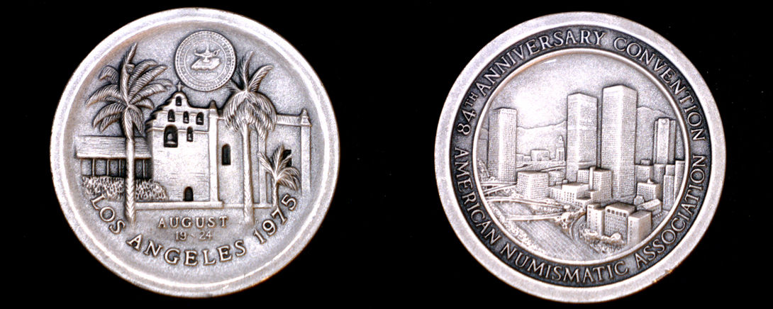1975 American Numismatic Association 84th Convention 29.8g Silver - Los Angeles - $49.99