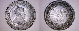 1904 Canada 1 Large Cent World Coin - Canada - $89.99