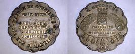 Undated Brass Jeweller's Advertising Token Paris France - $29.99