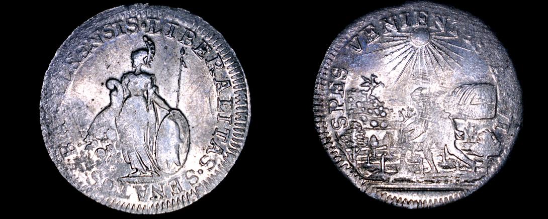 c.1740 Swiss Canton Basel School Prize Medal - Silver - $64.99
