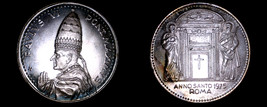 1975 Vatican City Pope Paul VI World Silver Medal - Catholic Church Italy - $44.99