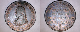 1811 Great Britain Sheffield Halfpenny Condor Token - $49.99