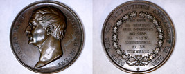 c.1855 Medal Geneva Switzerland James Fazy - $59.99