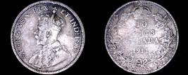 1911 Canada 10 Cent World Silver Coin - Canada - George V - $14.99