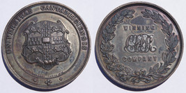 1897 Great Britain Cambridge University Volunteer Rifle Corps Medal - $89.99
