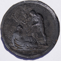 1800 Napoleonic Medal - Restoration of the Cisalpine Republic Trial Die ... - $249.99