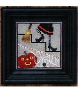 Under The Stairs Spooky Spinners series cross stitch chart Bent Creek  - $6.75