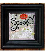 Spooky Said The Ghost Spooky Spinners series cross stitch chart Bent Creek  - $6.75