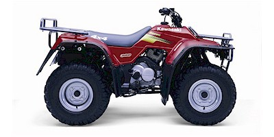 kawasaki 300 atv service manual