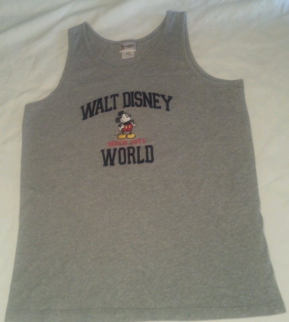 Walt Disney World Embroidered Mickey Mouse Raised Letters