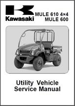 2005-12 Kawasaki Mule 610 4X4 / Mule 600 UTV Service Repair Manual CD -- KAF400 - $12.00