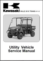 Kawasaki MULE 3010 Trans 4x4 UTV Service Repair Workshop Manual CD - $12.00