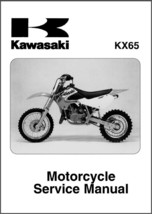 2000-2007 Kawasaki KX65 Service Repair Manual CD --  KX 65 - $12.00
