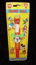 Disney Esco Mickey Mouse Toy Watch New Donald Duck - $18.99
