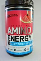 Optimum Nutrition Amino Energy + Electrolytes Watermelon Splash 30 Servi... - $22.72