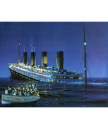 Titanic Breaking Up Cross Stitch Pattern***LOOK*** - $4.95