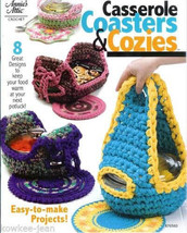Rag crochet pattern: casserole carriers coasters cozies - $24.12