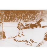 Bobby Orr Boston Bruins 05/10/70 Cup Winning Goal vs St Louis 11X14 Sepi... - $9.95