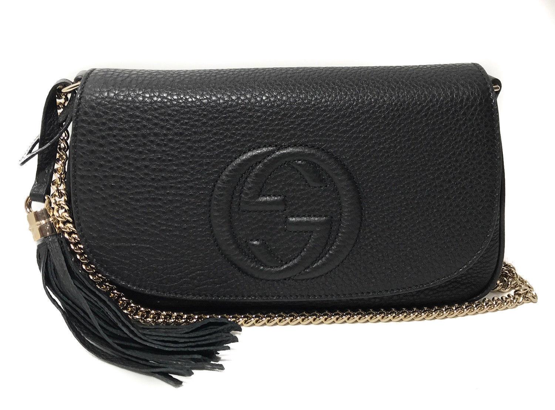 e2d963c4d42 GUCCI 336752 Soho Leather Crossbody Bag and 50 similar items. S l1600