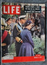 Life Magazine - March 4, 1957 - Reunion In Portugal: Elizabeth and Philip - $2.50