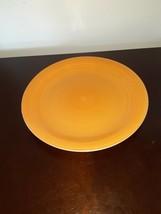 """Royal Norfolk 10 3/4"""" Yellow Dinner Plate Rings, Ridges/Ridged Rim Stoneware EUC - $9.89"""