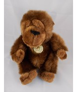 "Dan Dee Ape Gorilla Monkey Ape Plush Doll Sits 9"" Tall Stuffed Animal toy - $6.95"