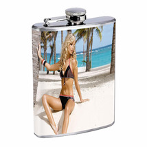 Manchester UK Pin Up Girls D9 Flask 8oz Stainless Steel Hip Drinking Whi... - $262,23 MXN