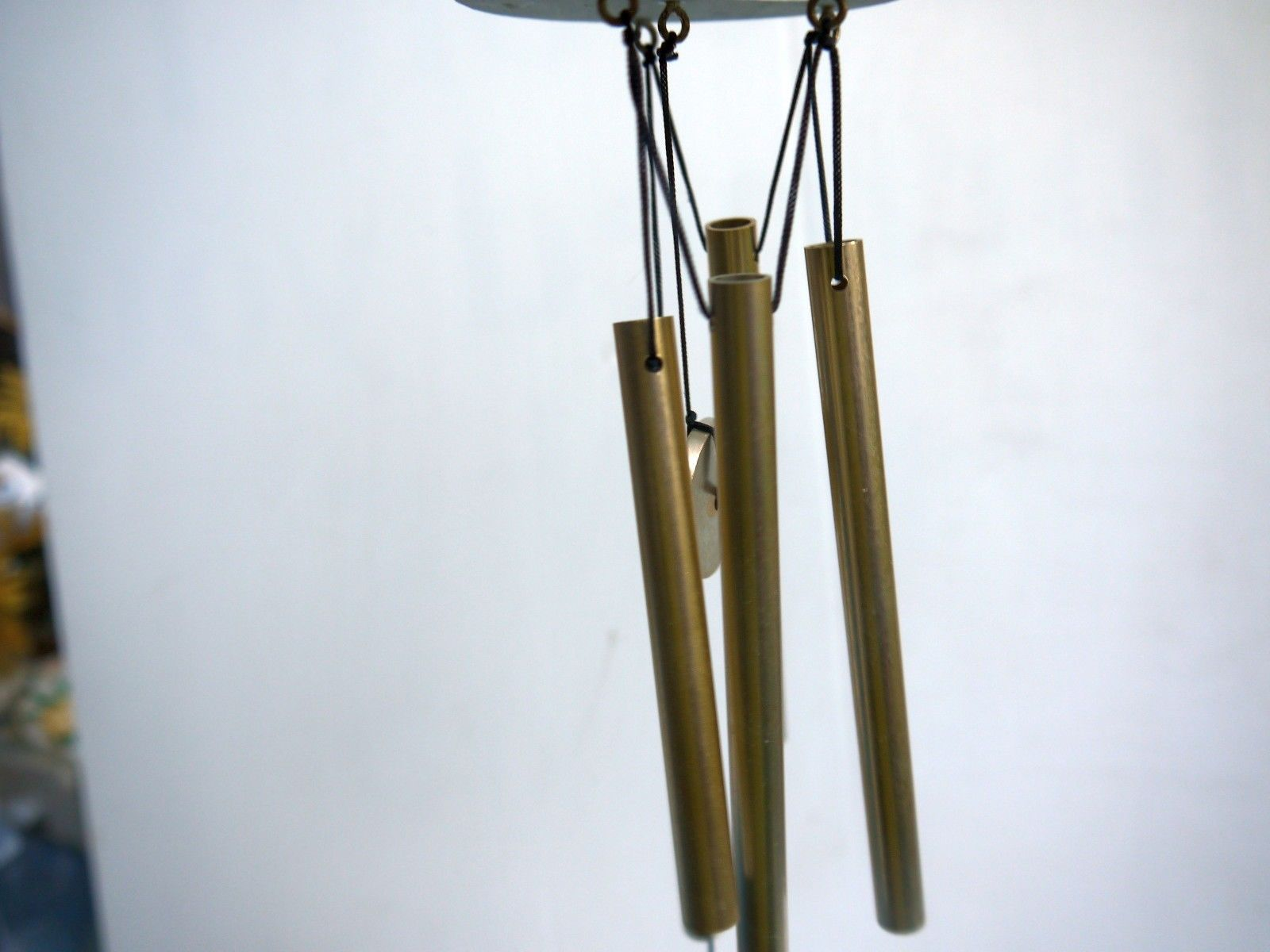 20-in Green Metal Butterfly Wind Chime