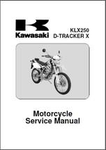09-12 Kawasaki KLX250 / D-Tracker X Service Repair Manual CD --- KLX 250  - $12.00