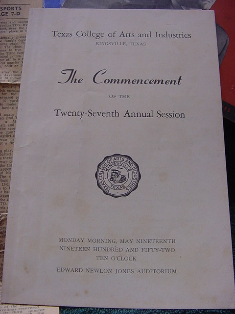 1952 El Rancho-Texas A&I-Texas college of Arts & Industries, Kingsville yearbook