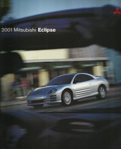 2001 Mitsubishi ECLIPSE sales brochure catalog US 01 RS GS GT - $10.00