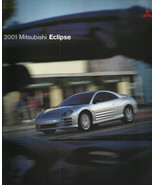 2001 Mitsubishi ECLIPSE coupe sales brochure catalog US 01 RS GS GT - $10.00