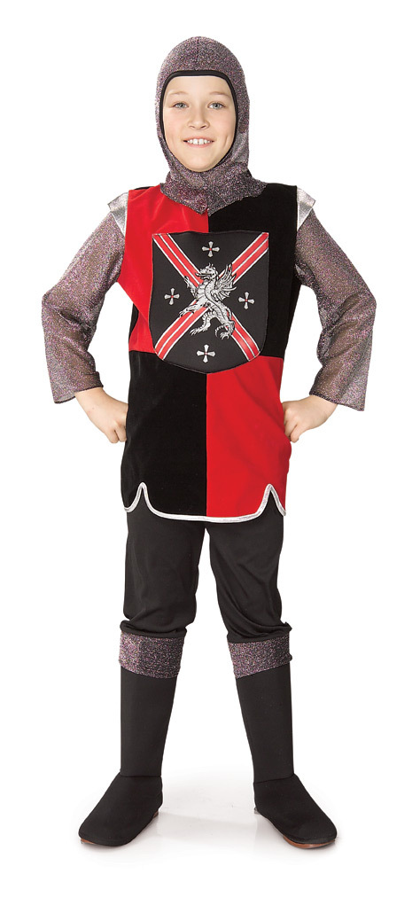 Medieval Knight (7pc) LARGE 12/14 Childs Costume Generic