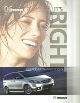 2006 Mazda 5 MAZDA5 sales brochure catalog 06 US - $8.00