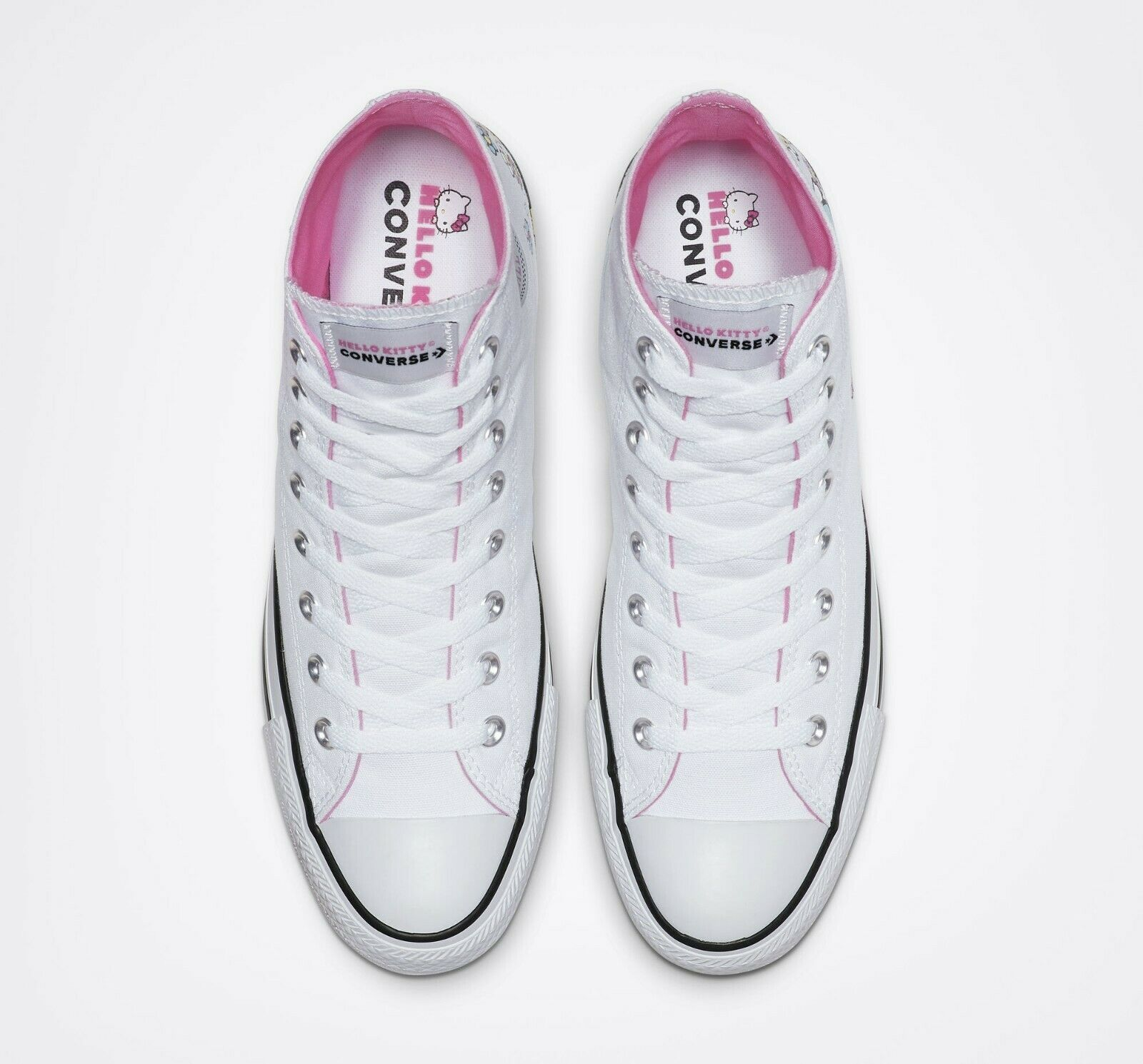 Converse x Hello Kitty Chuck Taylor All Star High Top, 164629F Multi Sizes White image 4