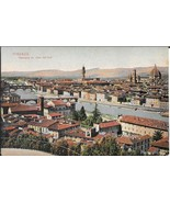 1908 Panoramic View of Florence, Italy - Unused - $4.99