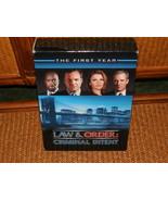 LAW & ORDER CRIMINAL INTENT COMPLETE STELLAR 1ST SEASON 6 DVD ALL EPISODES - $4.99