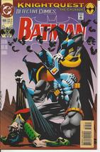 DC Detective Comics #668 Knightquest The Crusade Bruce Wayne Gotham City - $2.25