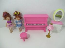 Fancy Nancy Doll Piano Mini Ballet Studio Playset replacement bedroom dr... - $12.86