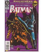 DC Detective Comics #676 Knightsend Part Three Bruce Wayne Gotham City - $3.50